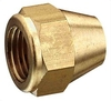 "Nut Ø6mm x 5/16""SAEF (=large) (brass)"
