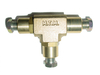 Check valve T-adapter Ø8mm (brass)